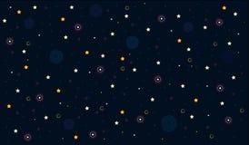 Cielo stellato illustrazione vettoriale