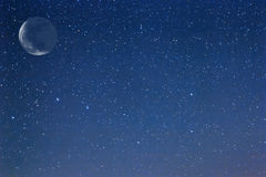Cielo stellato di notte Fotografie Stock Libere da Diritti