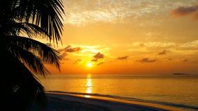 Cielo stupefacente di tramonto Immagini Stock Libere da Diritti