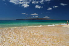 Cielo su Maui. Immagine Stock