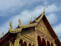 Cielo sul tempio Immagini Stock