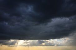 Cielo tempestoso Fotografie Stock Libere da Diritti