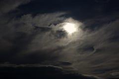 Cielo tempestoso Fotografia Stock