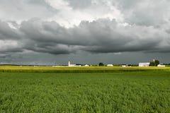 Cielo tempestuoso Fotos de archivo