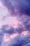 Cielo tempestuoso Foto de archivo libre de regalías