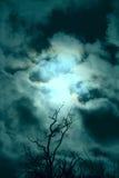 Cielo tempestuoso Imagenes de archivo