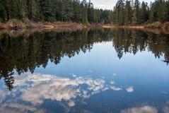 Cielo upside-down Foto de archivo libre de regalías