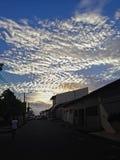 Cielo urbano Fotografie Stock