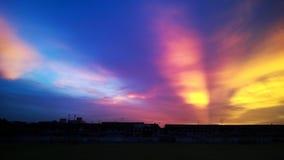 Cielo variopinto Fotografia Stock