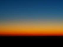 Cielo variopinto astratto prima di alba Fotografia Stock