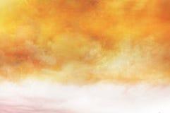 Cielo verniciato - superficie dell'annata Immagine Stock