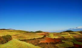 Cielo y colina de Bule fotos de archivo libres de regalías