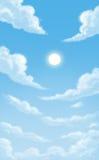 Cielo y colund Foto de archivo libre de regalías