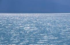 cielo y lago horizonte Fotos de archivo