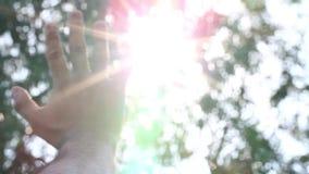Cielo y mano de la sol metrajes