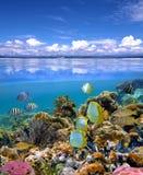 Cielo y mar Imagenes de archivo