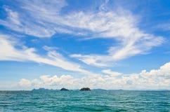 Cielo y mar. Fotos de archivo libres de regalías