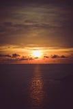 Cielo y mar Fotos de archivo