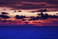 Cielo y mar Imagen de archivo