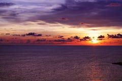 Cielo y mar Foto de archivo libre de regalías