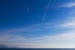 Cielo y mar Imagen de archivo libre de regalías