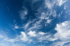 Cielo y nube, cielo abstracto Fondo de la libertad fotos de archivo