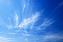 Cielo y nubes Imagen de archivo libre de regalías