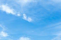 Cielo y nubes de la belleza en naturaleza Fotografía de archivo