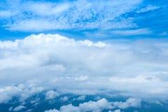 Cielo y nubes de la naturaleza Foto de archivo