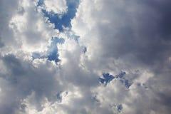 Cielo y nubes hermosos fotografía de archivo libre de regalías