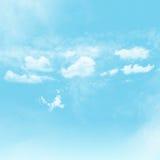 Cielo y nublado Imagen de archivo libre de regalías