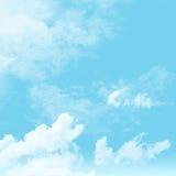 Cielo y nublado Fotografía de archivo