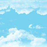 Cielo y nublado Foto de archivo libre de regalías