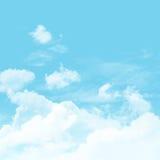 Cielo y nublado Imágenes de archivo libres de regalías