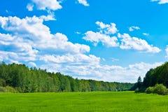 Cielo y tierra Fotografía de archivo