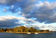 Cielo y x28; 2& x29; Foto de archivo libre de regalías