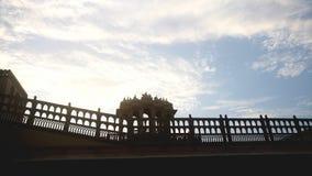 Cielos, arquitectura, fuerte, escultura, historia Imágenes de archivo libres de regalías