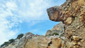 Cielos azules sicilianos Foto de archivo libre de regalías