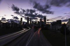 Cielos de Atlanta Fotos de archivo libres de regalías