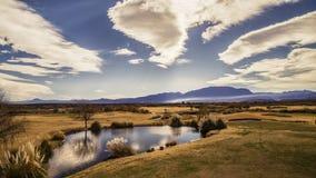 Cielos de Cafayate Imagen de archivo libre de regalías
