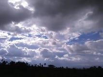 Cielos de la mañana foto de archivo