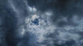 Cielos de la puesta del sol Imagenes de archivo