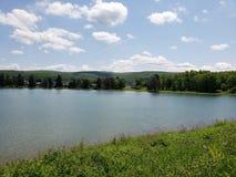 Cielos de la serenidad en el lago Ethel Fotografía de archivo