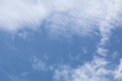 Cielos nublados durante el día Foto de archivo