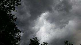 Cielos oscuros Imagen de archivo libre de regalías