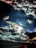 Cielos perfectos de la imagen Foto de archivo