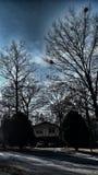 Cielos sombreados Fotos de archivo