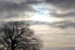 Cielos tempestuosos Fotos de archivo libres de regalías