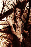 ciemną twarz Fotografia Stock