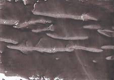 Ciemna łupkowych szarość akwareli abstrakcjonistyczna ilustracja Zdjęcia Royalty Free
